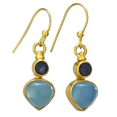 Steven + Clea Gemstone Earrings
