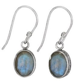 Steven + Clea Gemstone Sterling Silver Earrings
