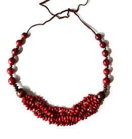 Angela Sanchez Handmade Monteria Necklace