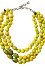 Angela Sanchez Lime Quidbo Acai Berry Necklace
