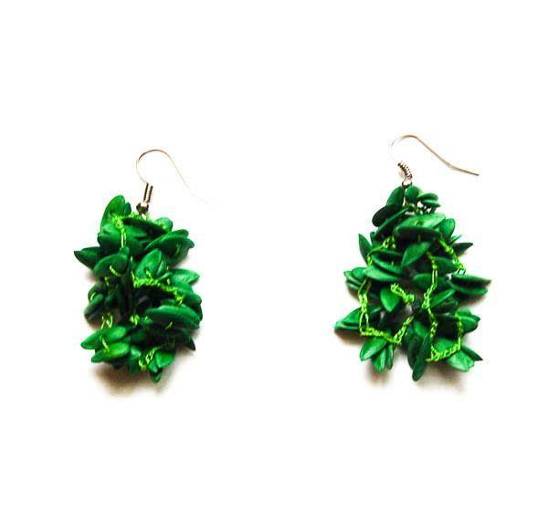 Angela Sanchez Mompox Melon Seed - Earrings