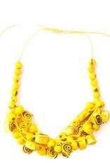 Angela Sanchez Handmade Mompox Orange Peel Necklace