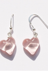 Bryce + Paola Petite Heart Sola ROSE GOLD Earrings