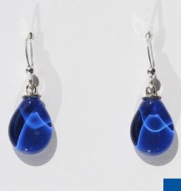 Bryce + Paola Mini Teardrop Sola PRINCESS BLUE Earring