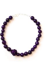 Angela Sanchez Tenjo Purple Necklace