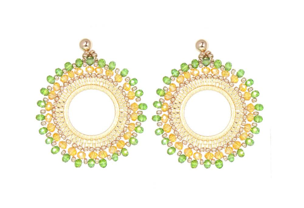 Esmeralda Lambert Earrings L07