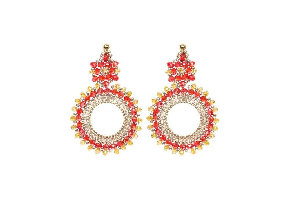 Esmeralda Lambert Paloma Earrings L20