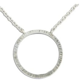Mark Steel Circle Pendant 1