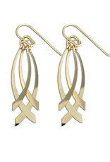 Mark Steel CrissCross Earring
