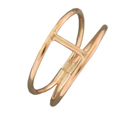 Mark Steel Single Bar Gold Filled