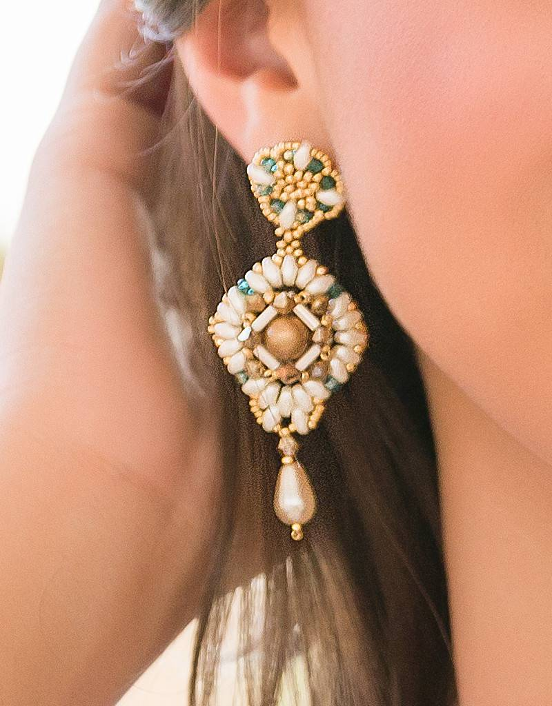 Esmeralda Lambert Earrings I30
