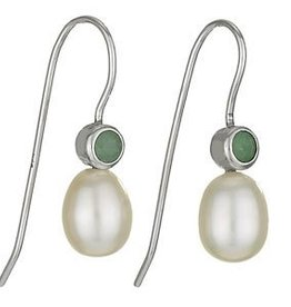 Steven + Clea Jade Pearl Earrings