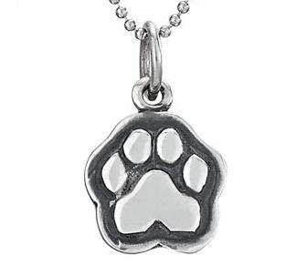 Steven + Clea Man's Best Friend Dog Sterling Silver Pendant Necklace