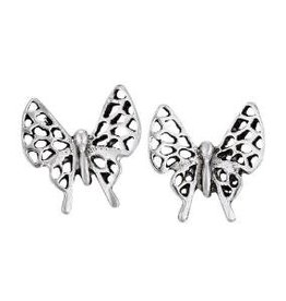 Steven + Clea Open Wing Butterfly Stud Earrings