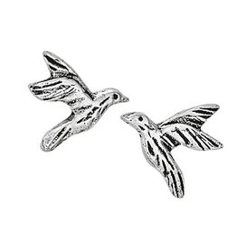 Steven + Clea Hummingbird in Flight Stud Earrings