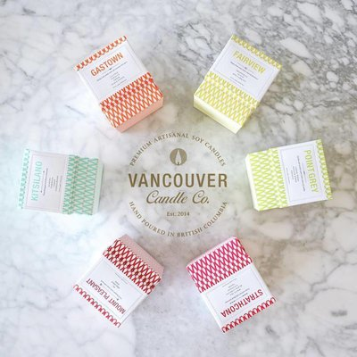 Vancouver Candle Co. Boxed Candle