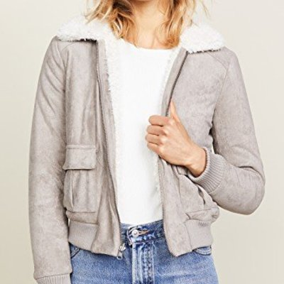 Cupcakes & Cashmere IRA reversible bomber
