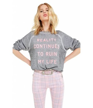 Wildfox Reality Continues Sweater
