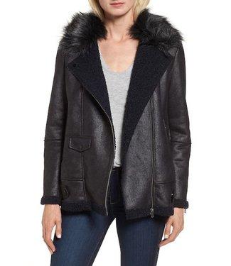 NVLT Suede bonded jacket