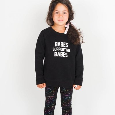 Little Babes by Brunette the Label Babes Support Kids Crew