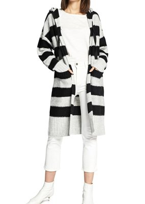 Sanctuary Rugby Hooded Long Cardi