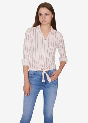 Sanctuary Hayley tie front shirt