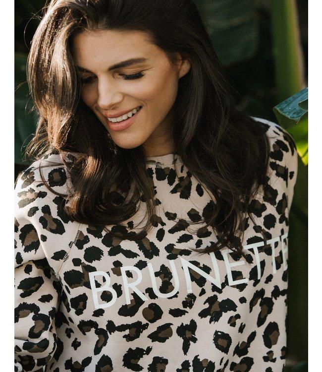 Brunette the Label Brunette Middle Sister- Leopard