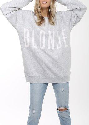 """Brunette the Label Blonde """"Big Sister"""" Crew"""