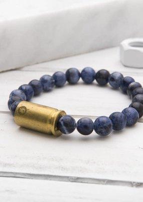 Brass & Unity Warrior - Sodalite