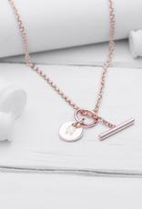 Brass & Unity Charm Necklace