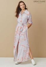 Great Plains Ava abstract shirt dress
