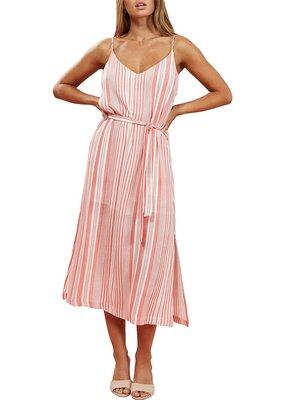 Mink Pink Ocean Side Stripe Mini Dress
