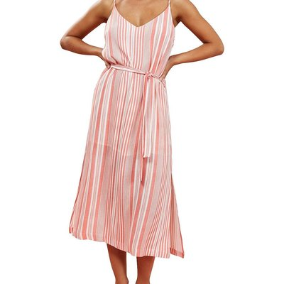 Mink Pink Ocean Side Stripe Mini Dress
