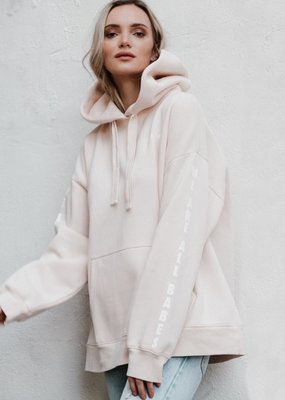 """Brunette the Label """"Be A Babe"""" Big Sister Hoodie"""