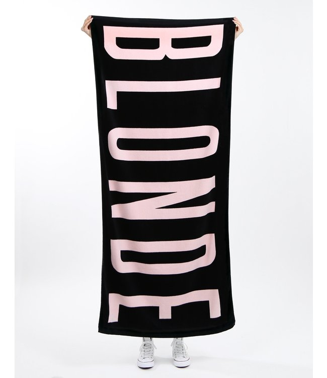Brunette the Label Blonde Beach Towel