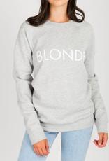 Brunette the Label Blonde Crew - Pebble Grey