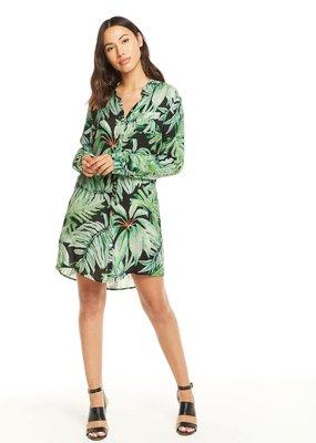 Chaser Heirloom Button Down Shirt Dress