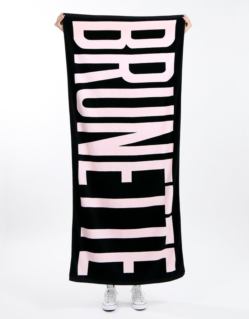 Brunette the Label Brunette Beach Towel