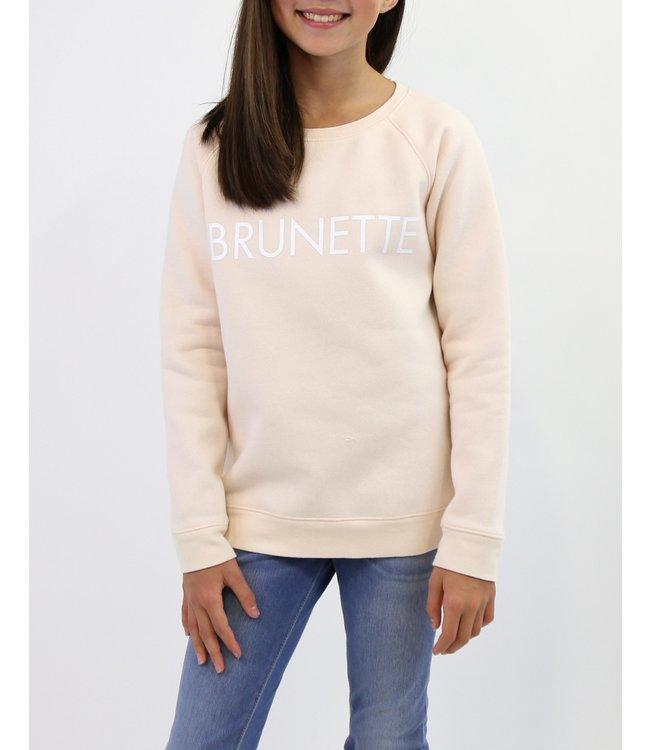 Brunette the Label Brunette Crew - Peach