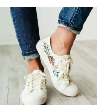 Rifle Paper Co. Keds Kickstart Embroidered Rosalie