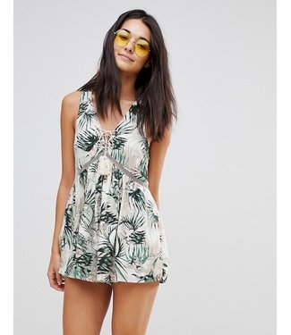 Somedays Lovin coastal roaming playsuit