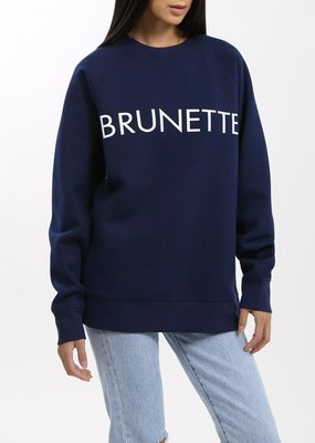 Brunette the Label Brunette Crew - Navy