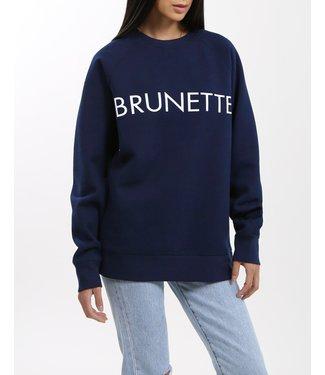 Brunette the Label Brunette Crew - Navy