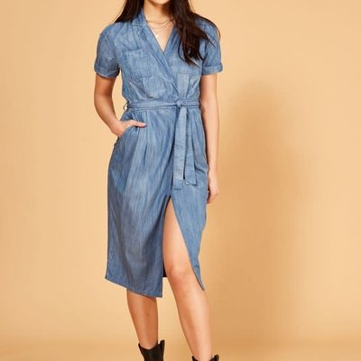 Mink Pink 70's Dream Shirt Dress
