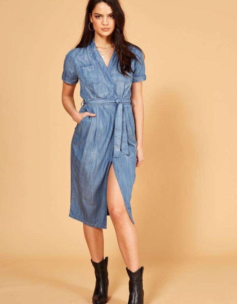 Mink Pink 70's Dream Shirt Dress