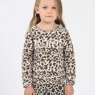 Little Babes by Brunette the Label Blonde Kids - Leopard