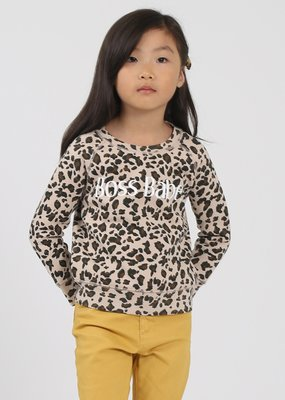 Little Babes by Brunette the Label Boss Babe Kids - Leopard