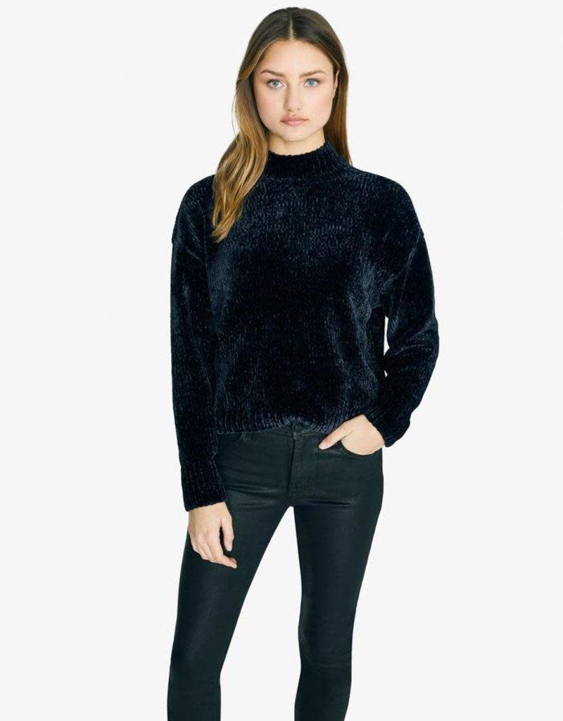Sanctuary Chenille Mock Neck Sweater