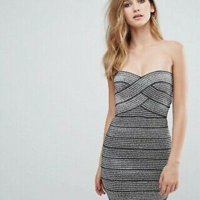 AP Design Strapless Fitted Dress