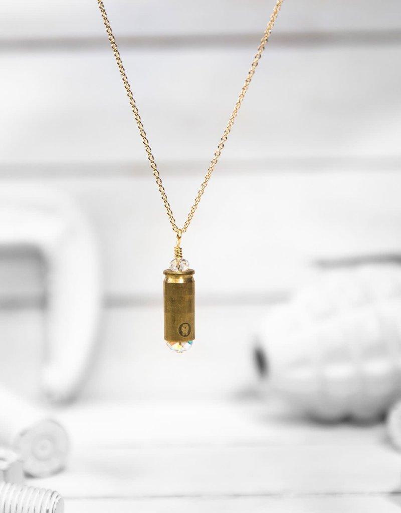 Brass & Unity Mini Shine Bright Necklace